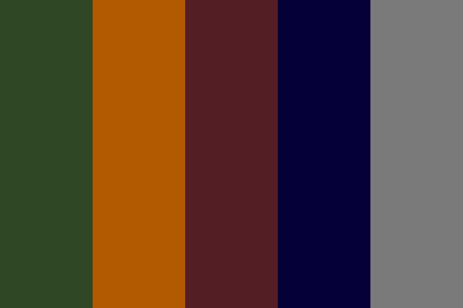 Fall Capsule Color Palette