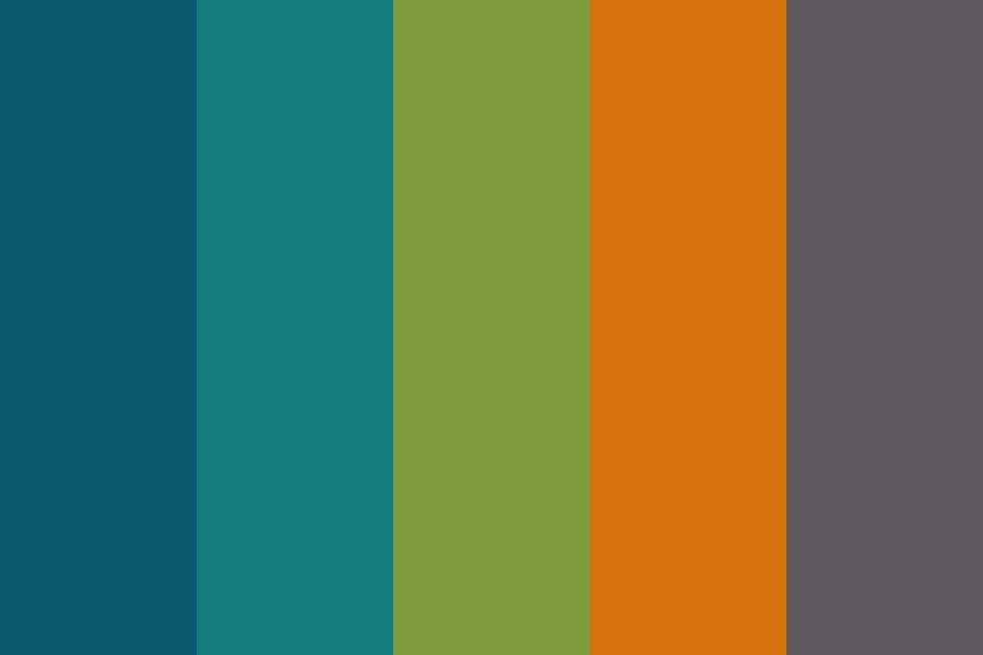 Fall Flannel Color Palette