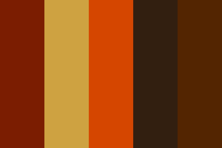 Fall Leaves Color Palette