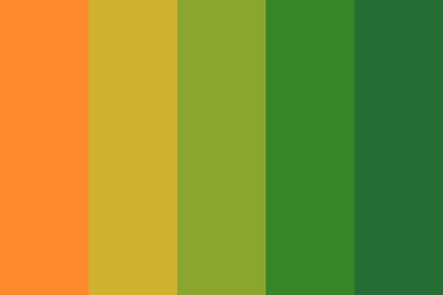 Fall Owo Color Palette