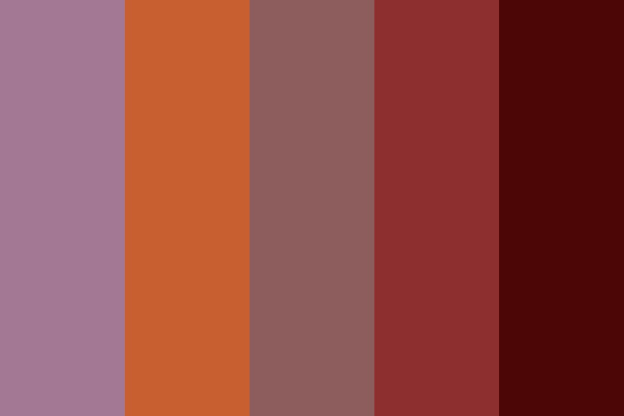 Fall Princess Color Palette