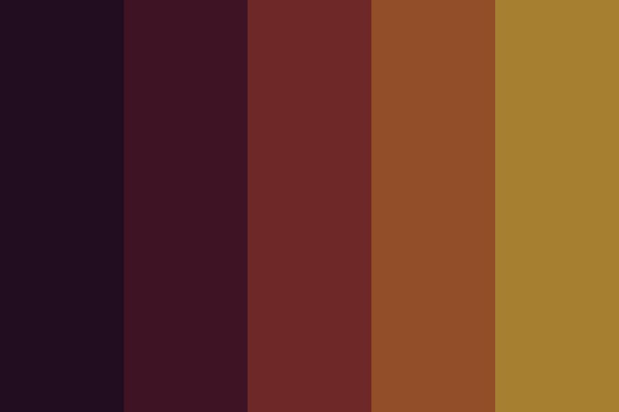 Fall Sunsets Color Palette