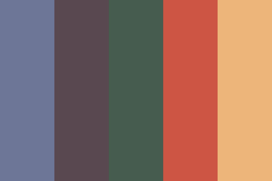 Fall Winds Color Palette