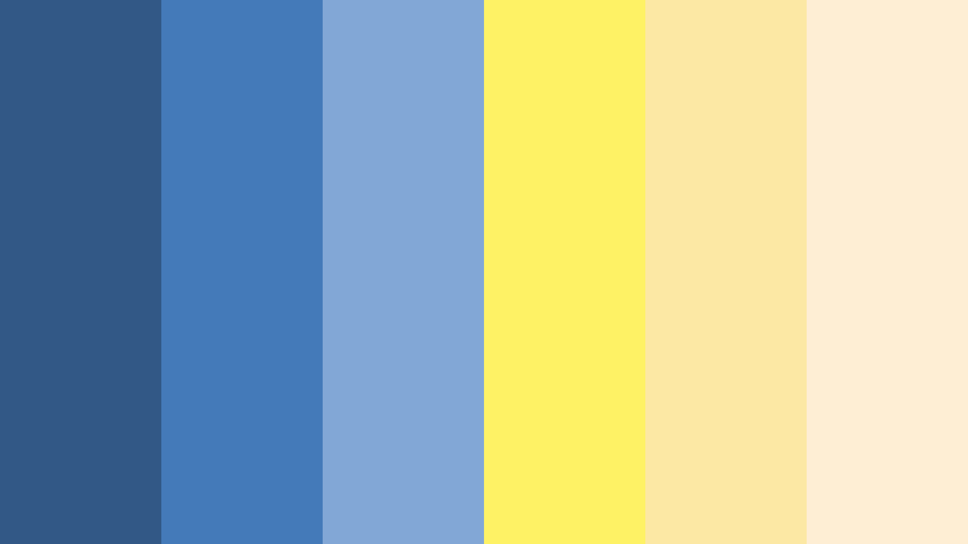 Fallout Vault Boy Color Palette