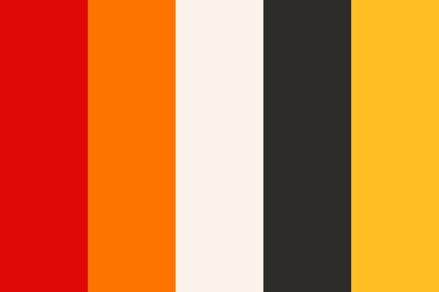 Fancy Goldfish Color Palette