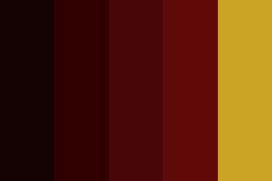 Fans Darkmaroon Color Palette