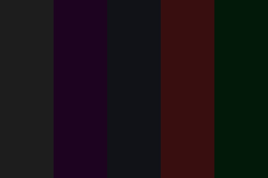 Favorite Darks Color Palette