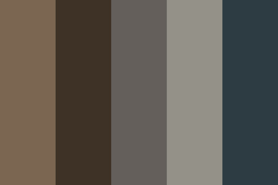 Feathered Color Palette