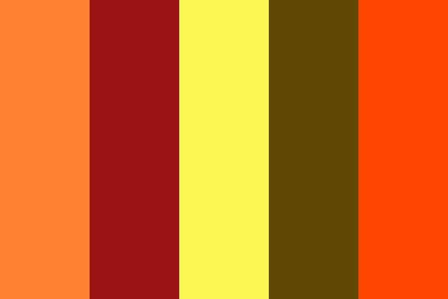 Feathered Indian Color Palette