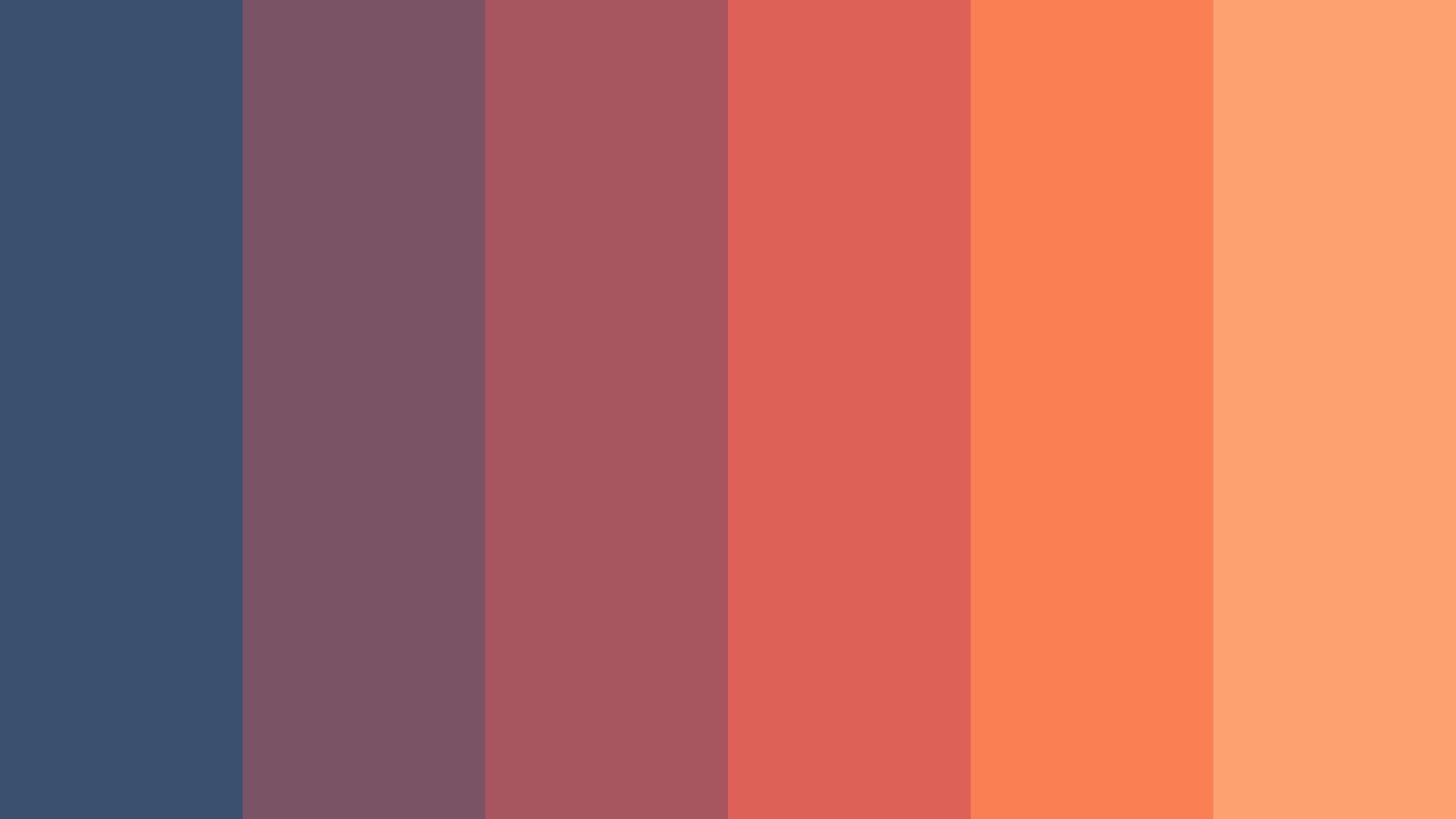 Featureless Heaven Color Palette