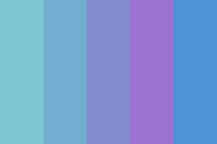 Feeling Blue Again Color Palette