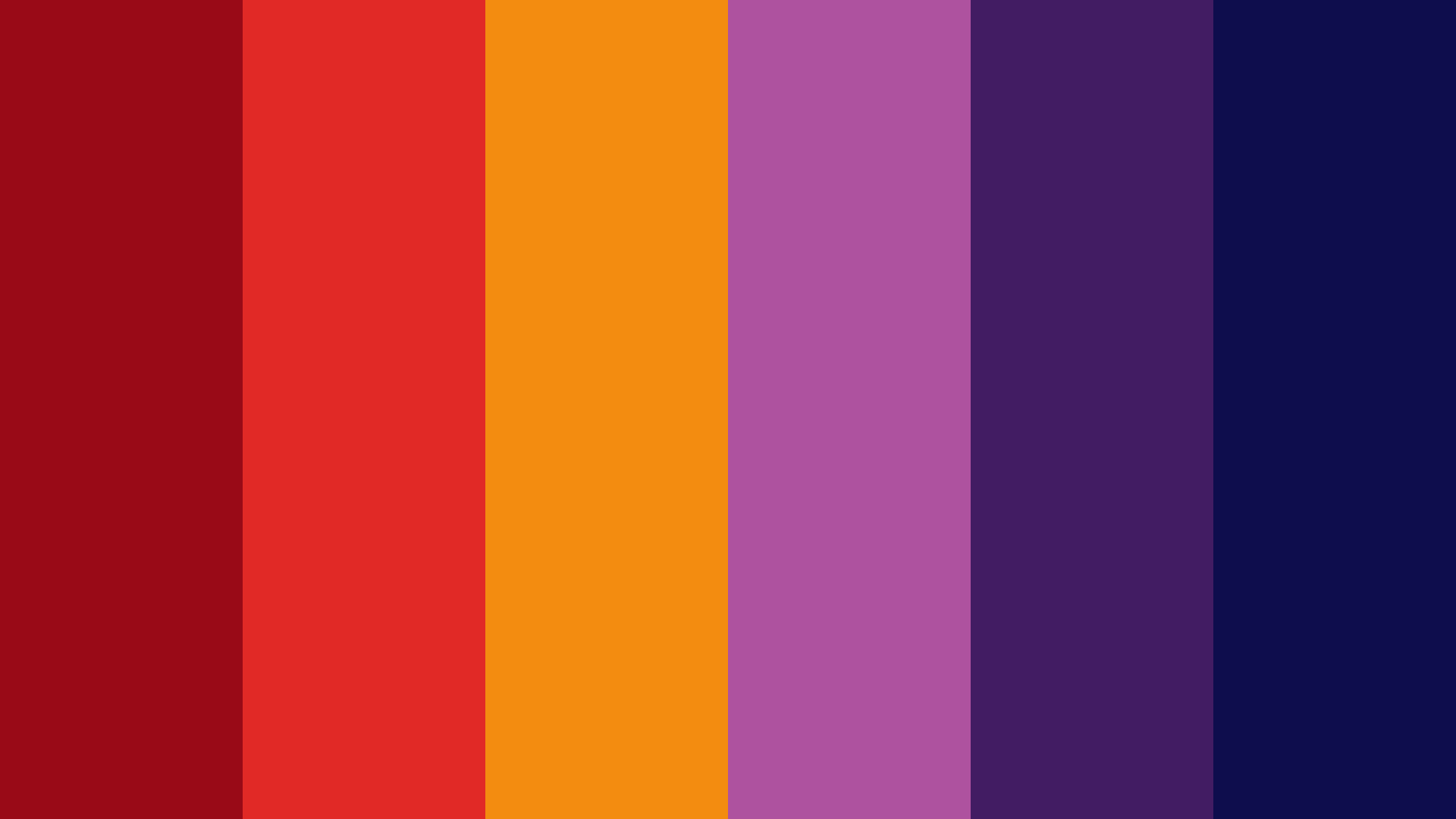 Fiery Summer Night Color Palette