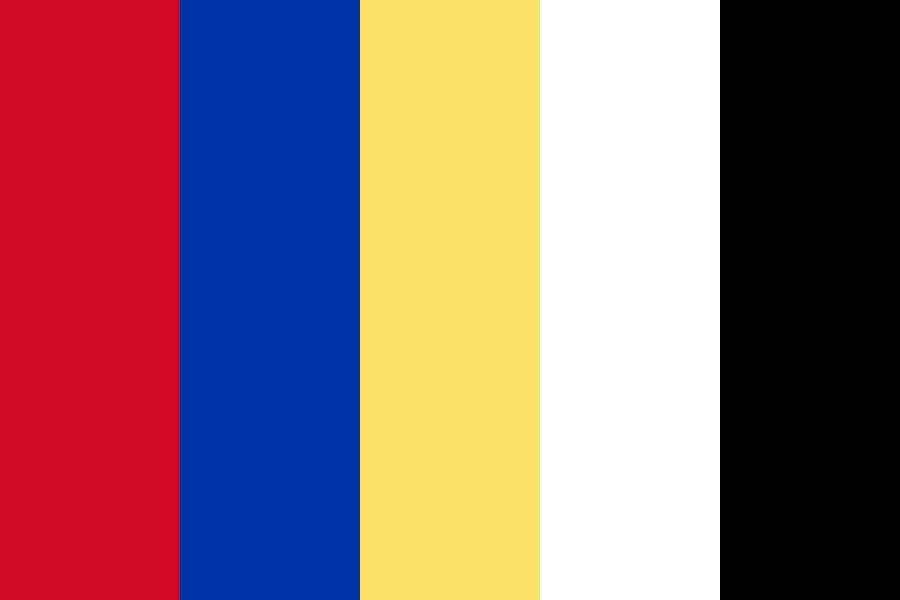 Filipino Flag Color Palette