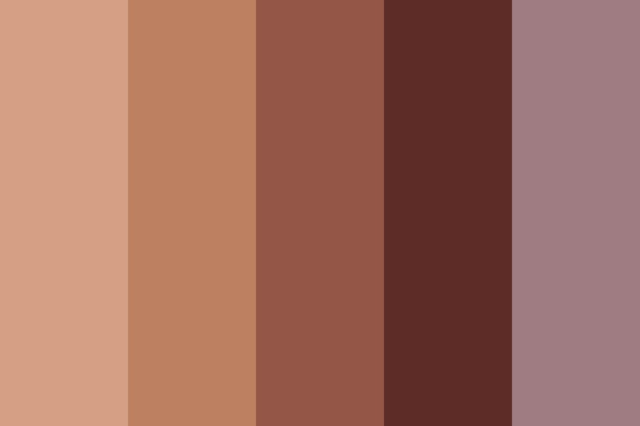 Filtered Flame Color Palette