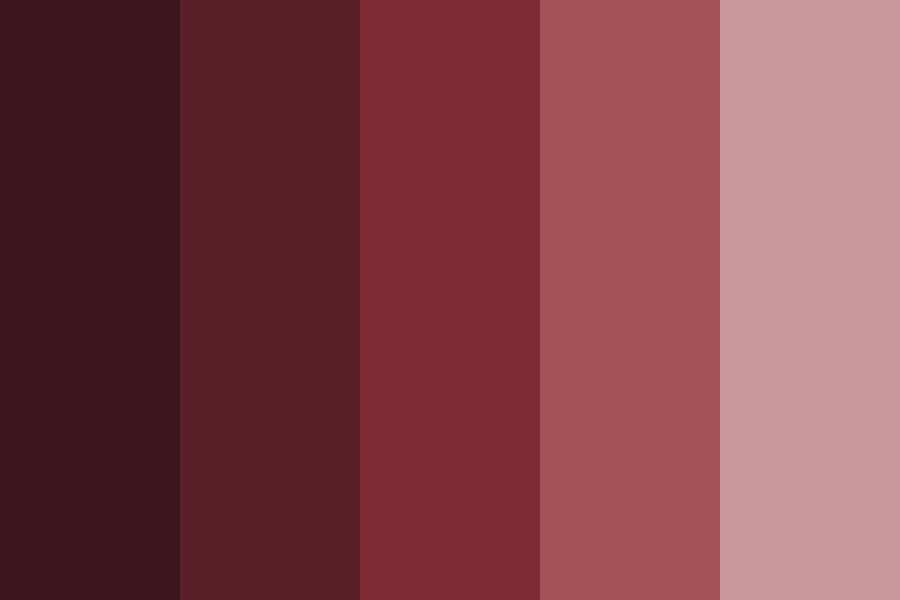 Filtered Rose Color Palette