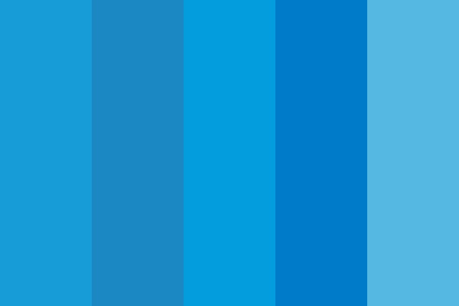 Fingerhutblue Color Palette