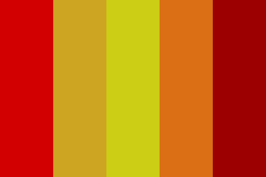Fire Alarm Color Palette