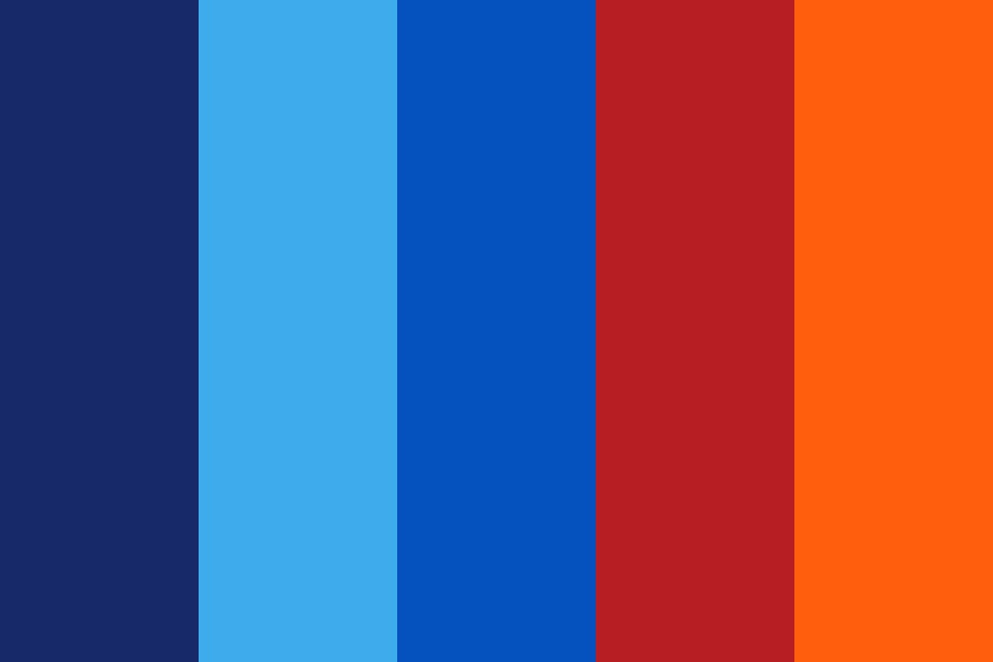 Fire And Ice Color Palette