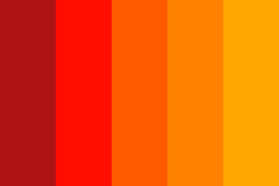 Fire Birb Color Palette