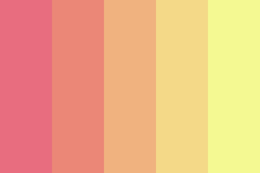 Fire Blossom Color Palette