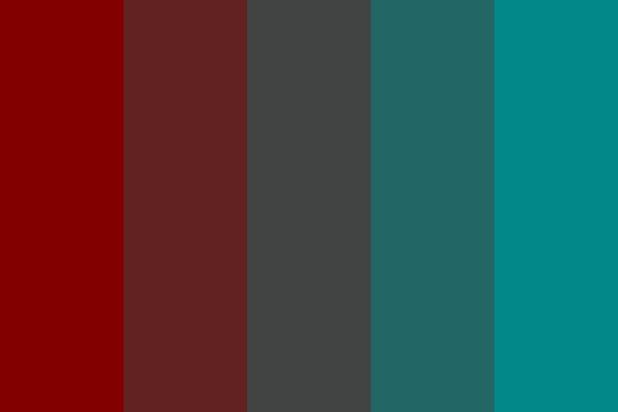 Fire Into Ocean Color Palette