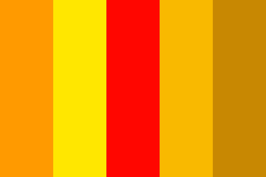 Fire Pallete Color Palette