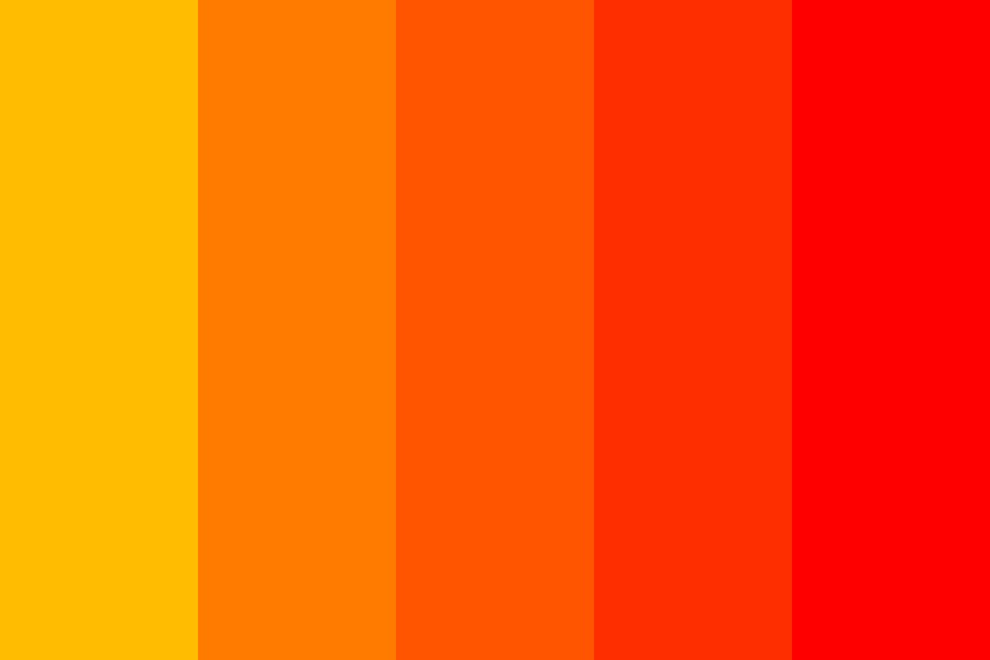 Fire Storm Color Palette