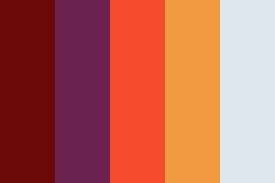 Fireball Toss Color Palette