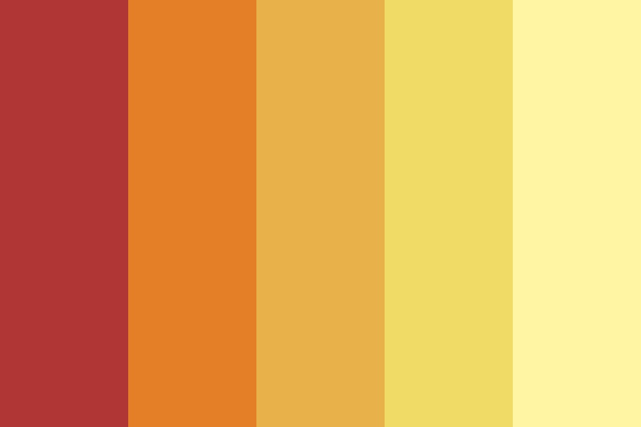 Fireeee Color Palette