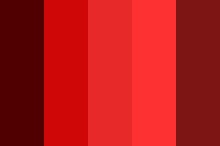 Firehousered Color Palette