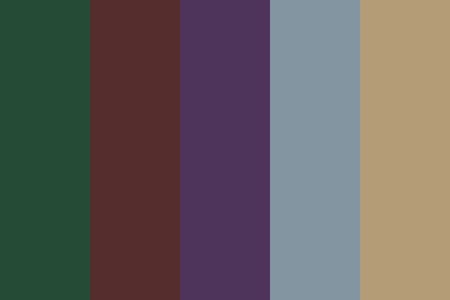 Firewoo Color Palette