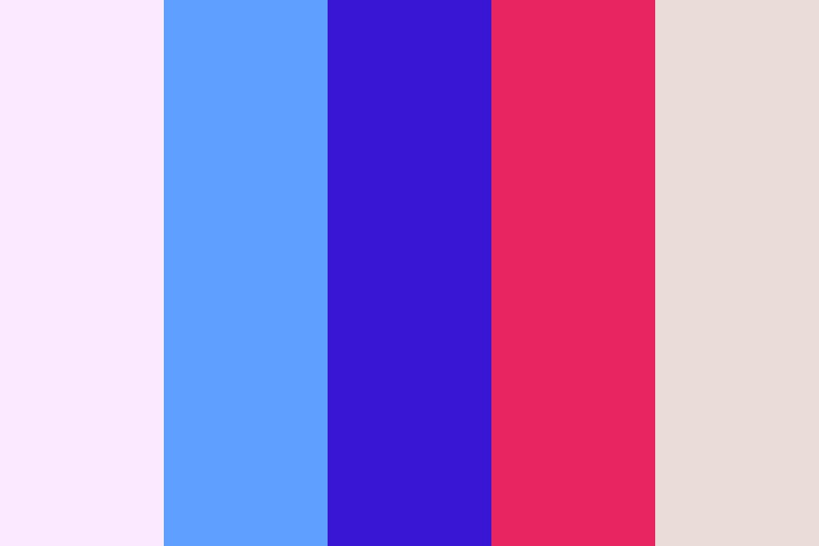 Fireworks And Popsicles Color Palette