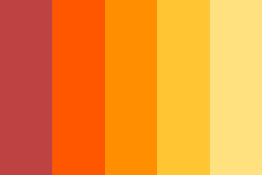 Firey Magma Color Palette