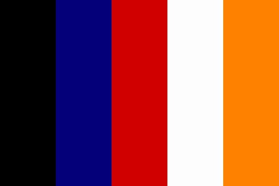 Flag Colours Color Palette