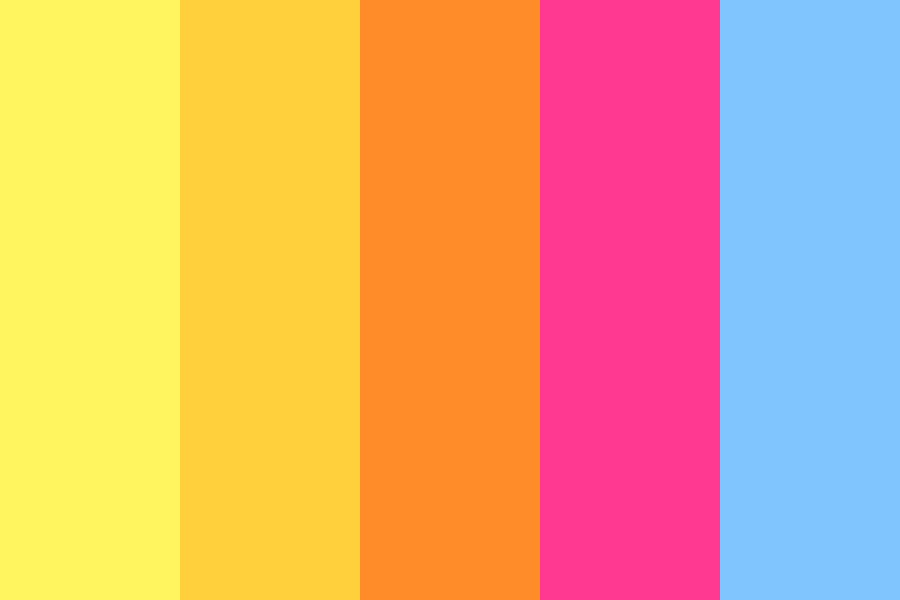 Flamingo Fire Color Palette