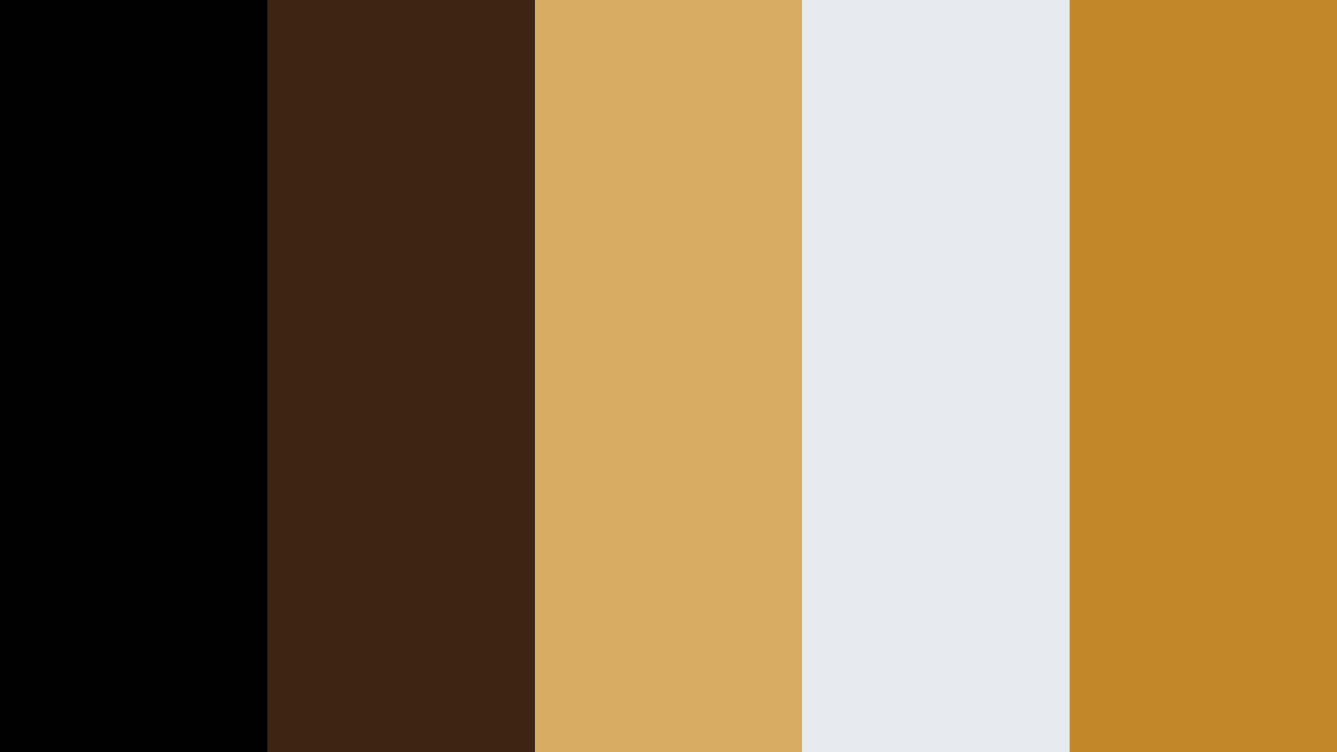 Flat White Coffee Color Palette