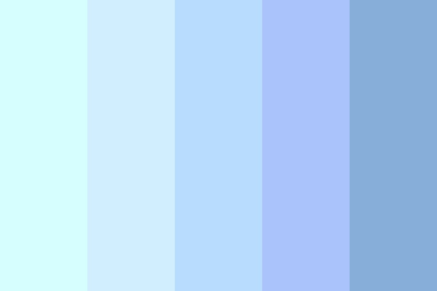 Flawless Summer Sky Color Palette