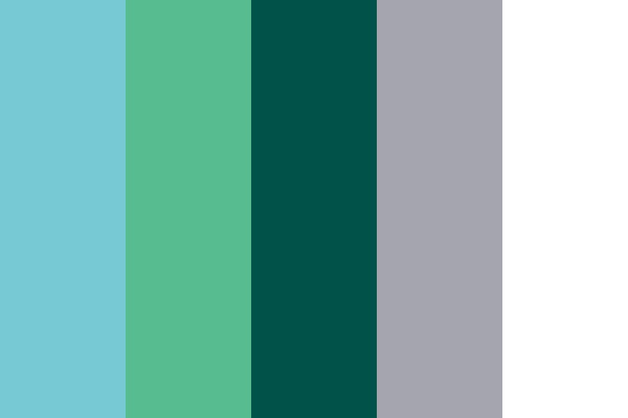 Flesh Blues Color Palette