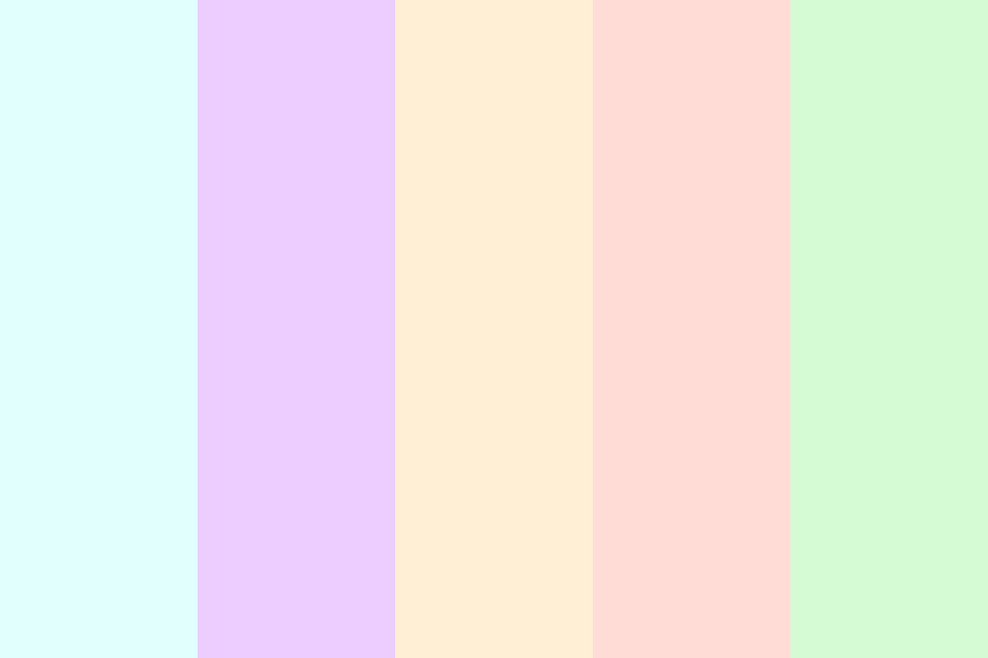 Flower Pastel Color Palette