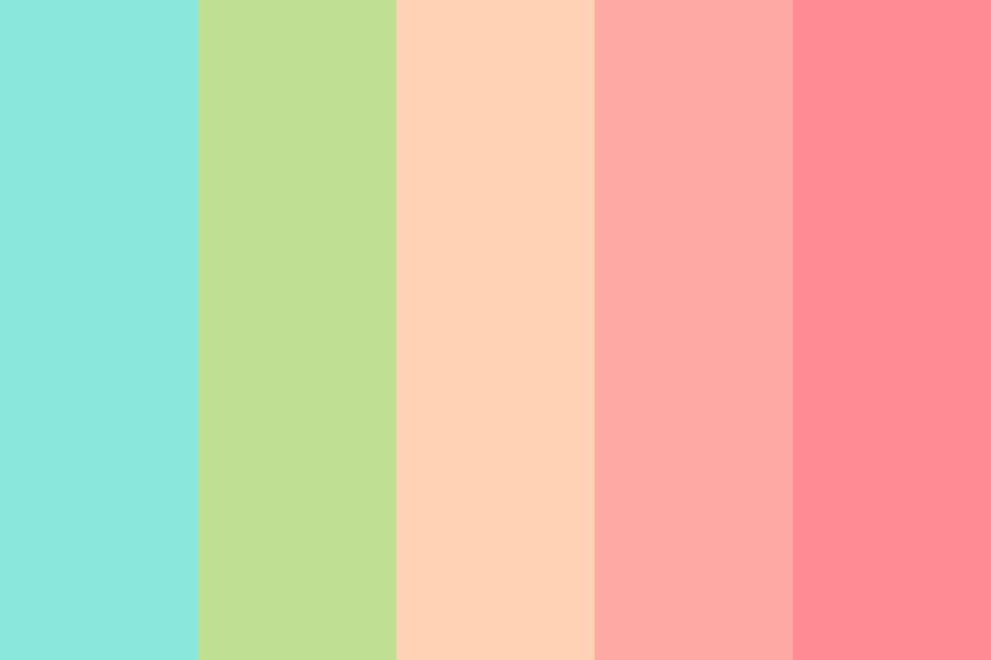 Flower Stalk Color Palette