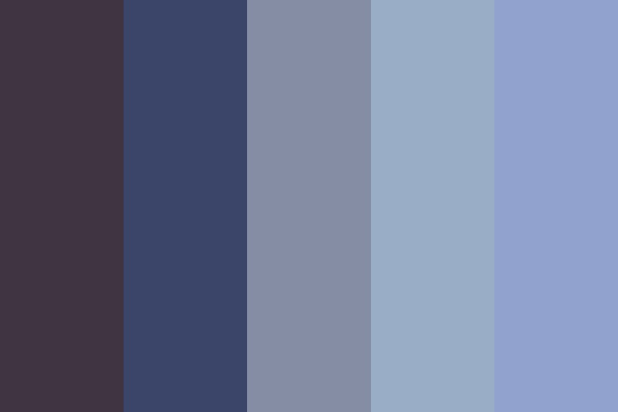 Flowers In The Garden Color Palette