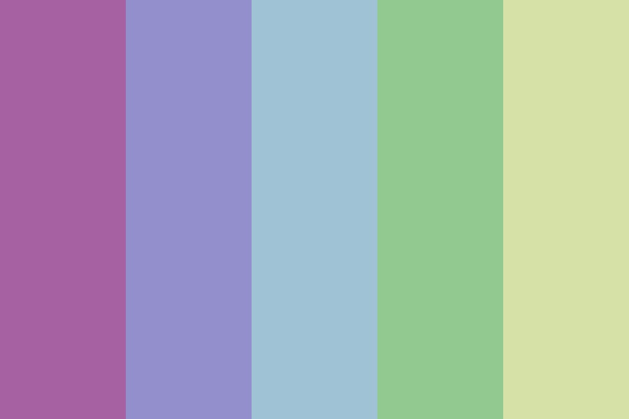 Flowers In The Sky Color Palette