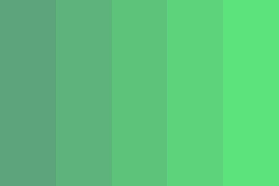 Fly Like A Bird Forest Color Palette