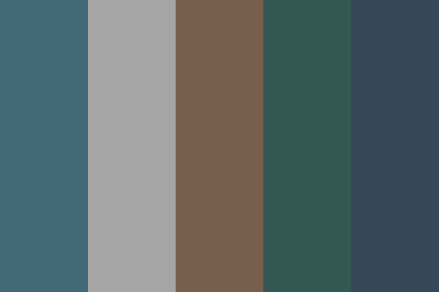 Fog Forest Color Palette
