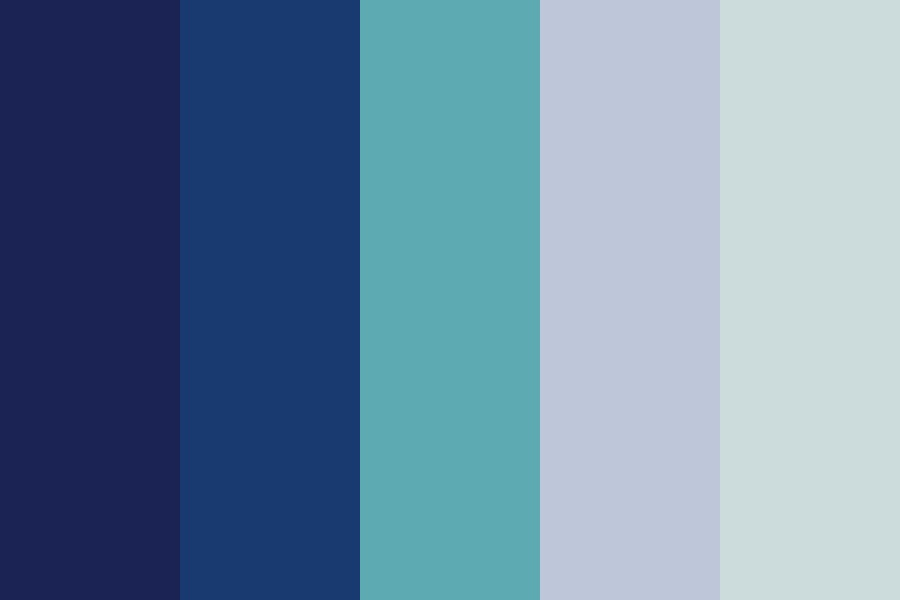 Foggy Midnight Color Palette