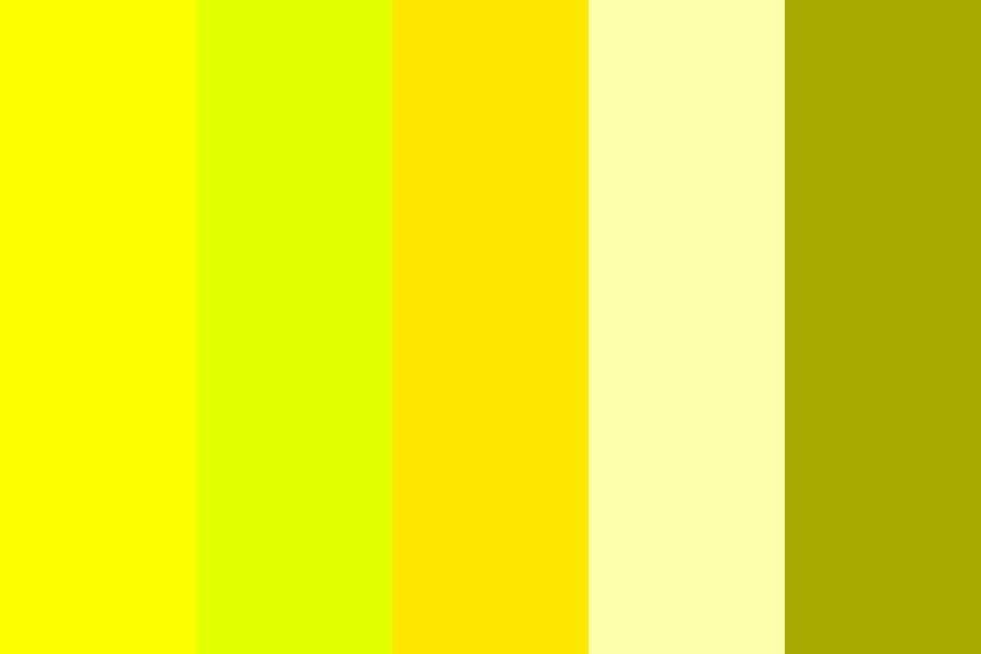 Follow The Yellow Brick Road Color Palette