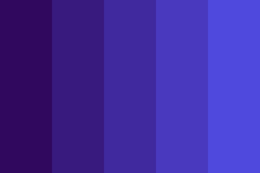 Follow You Down Into The Dark Color Palette