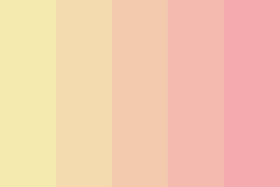 For The Fear That Tonight Is All  Color Palette