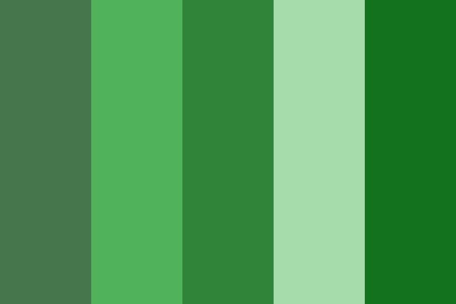 For The Green Playlist Color Palette