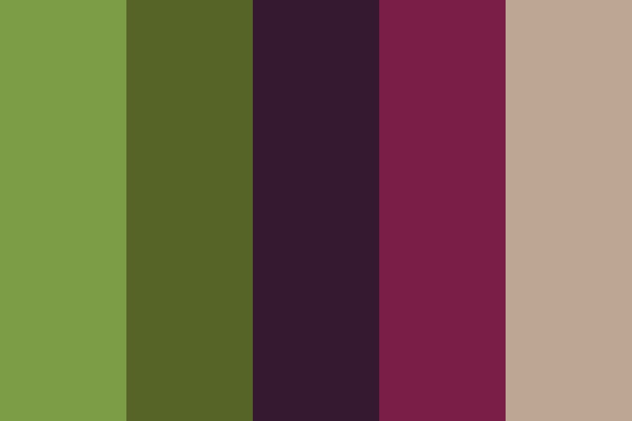 Forest Berries Color Palette